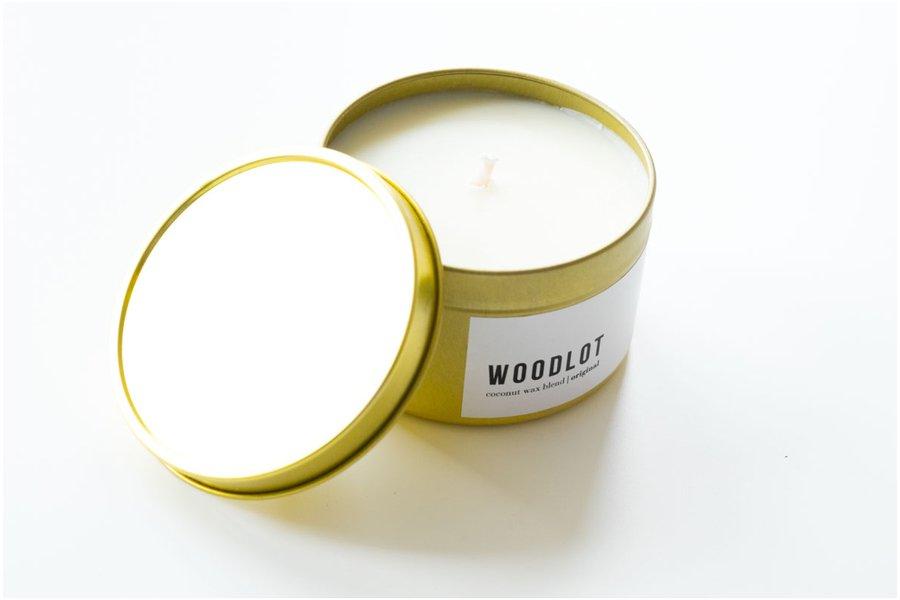 Woodlot Flora Travel Candle
