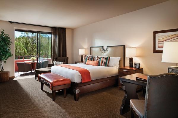 Casita King Room at Enchantment Resort - Sedona, Arizona