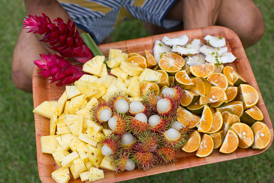 Fresh fruit in Tahiti, French Polynesia - Emily Nathan