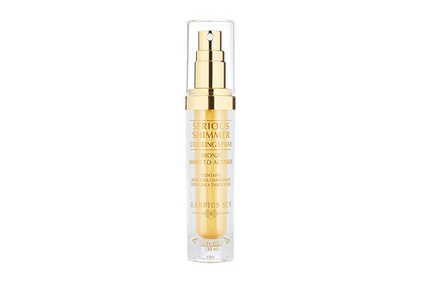 Hampton Sun Serious Shimmer Cooling Spray