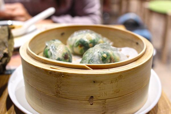 Tim Ho Wan Steamed Spinach Dumpling - Singapore
