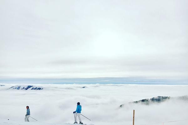 Top of the mountain, Sun Valley, Idaho