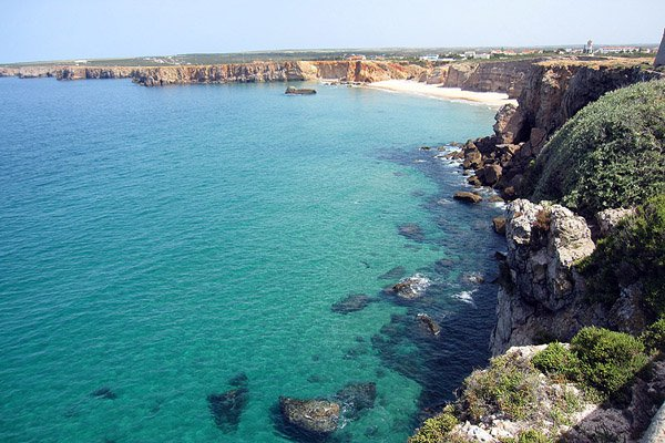 The view from Fortaleza de Sagres.
