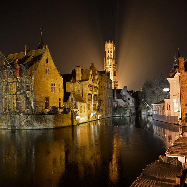 Bruges, Belgium / @brianthio
