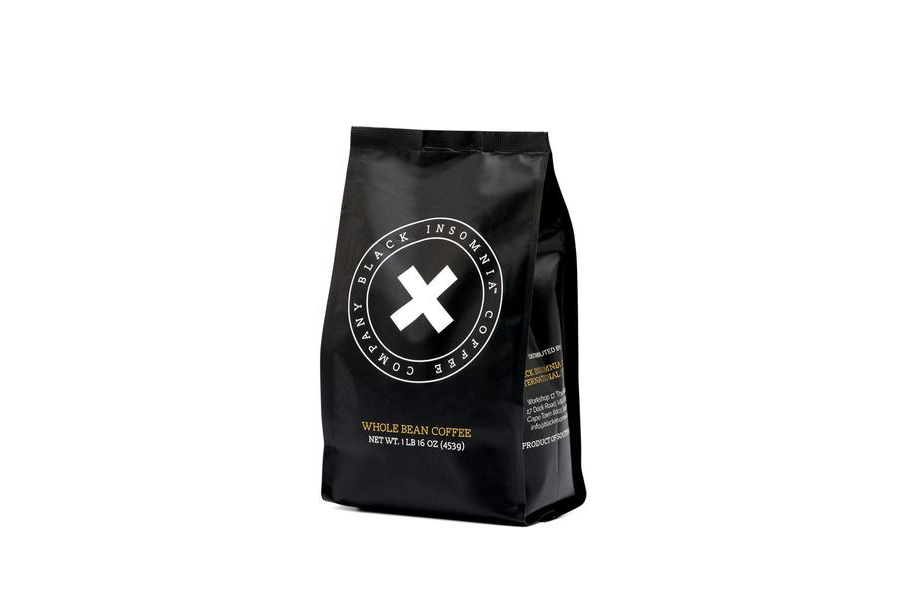 Black Insomnia Whole Bean Coffee