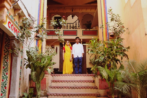 Traditoinal-meets-modern Rajasthan style boutique hotel Bundi Vilas.