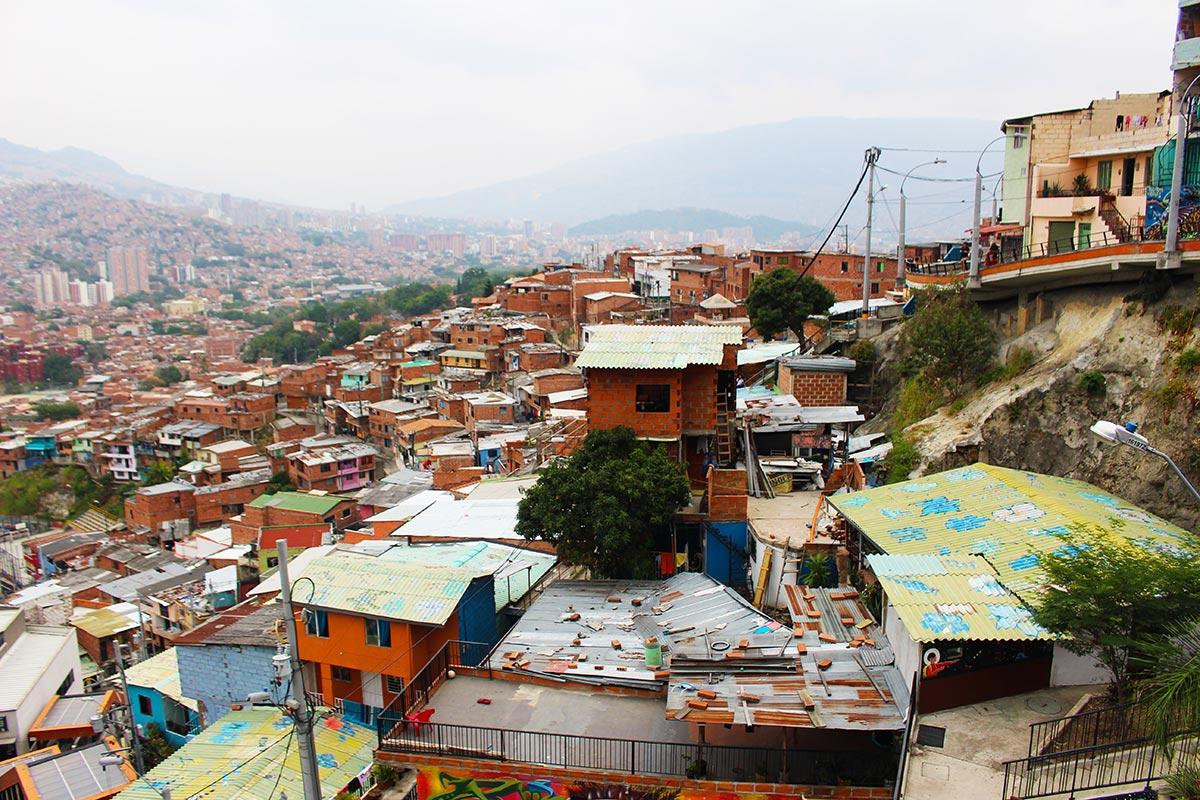 Comuna 13 - Medellin, Colombia