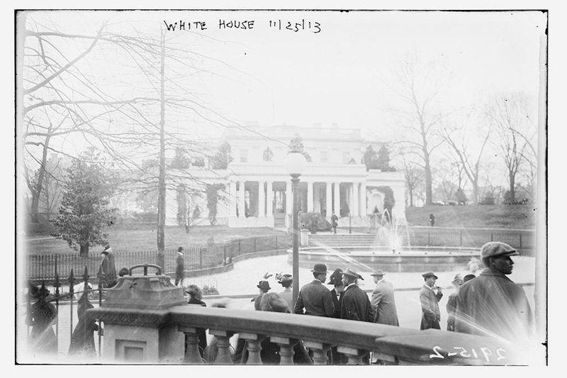 "The White House, Washington, D.C., 1913. Photo: <a title=""The Library of Congress"" href=""http://www.flickr.com/photos/library_of_congress/4586900500/""target=_blank"">The Library of Congress</a> / Flickr"