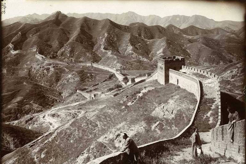 "Great Wall of China, 1907. Photo: Herbert Ponting via <a title=""The National Archives UK"" href=""http://www.flickr.com/photos/nationalarchives/5621209813""target=_blank"">The National Archives UK</a> / Flickr"