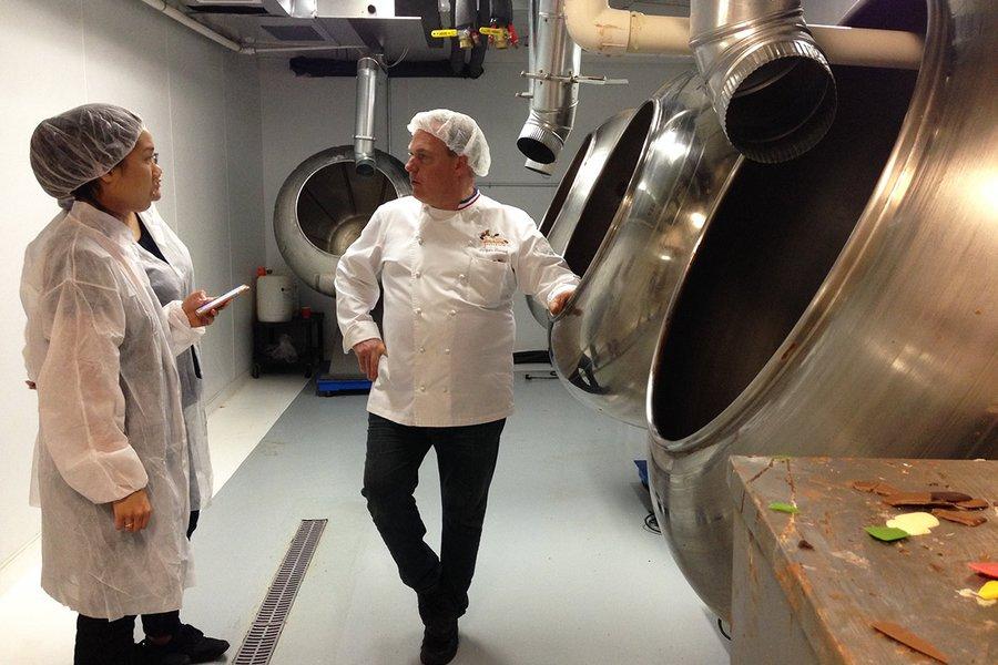 Mr. Torres and His Pan Coating Machines