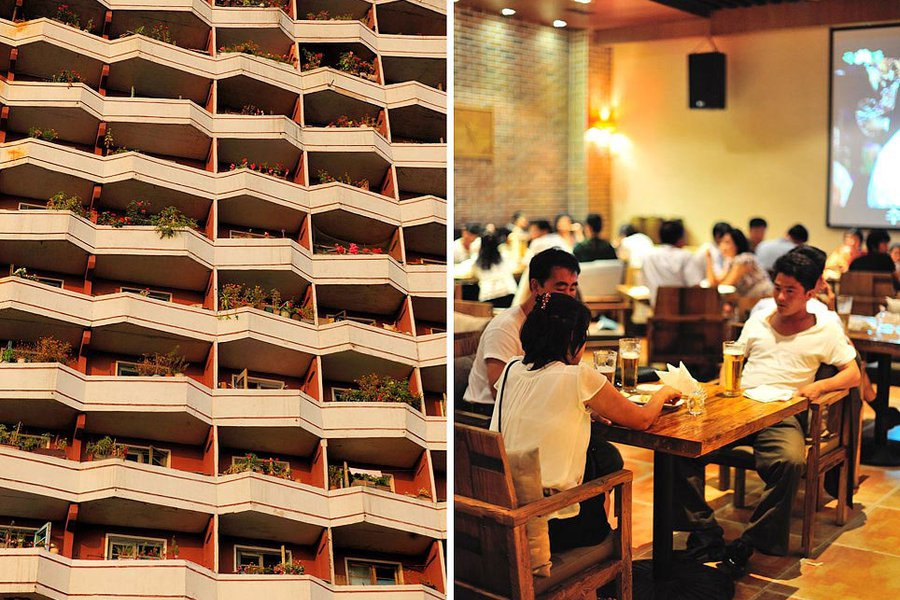 North Korean Architecture and Dining