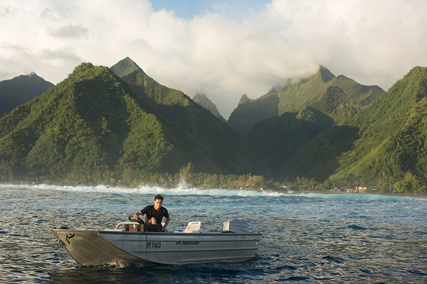 Boat ride in Tahiti, French Polynesia - Emily Nathan