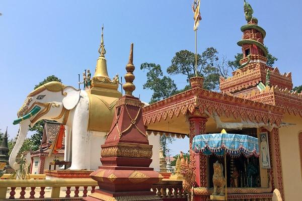 Siem Reap Cemetery, Cambodia