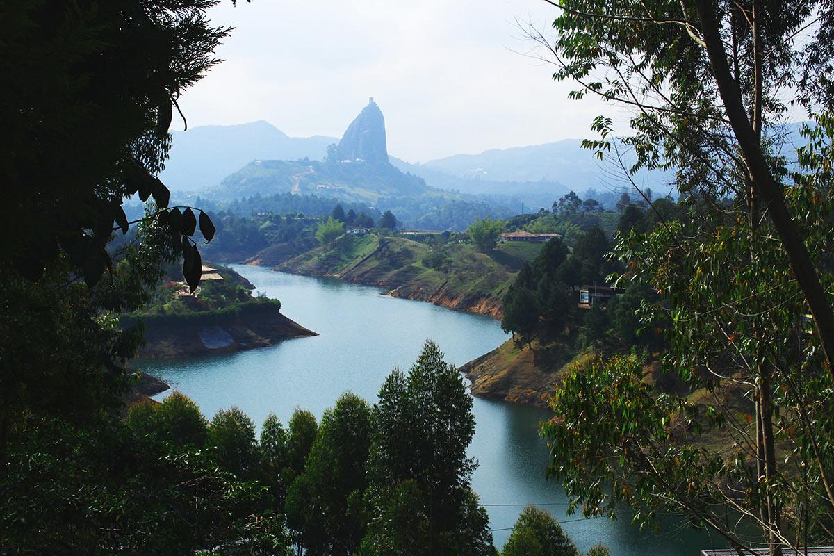 Guatape near Medellin, Colombia