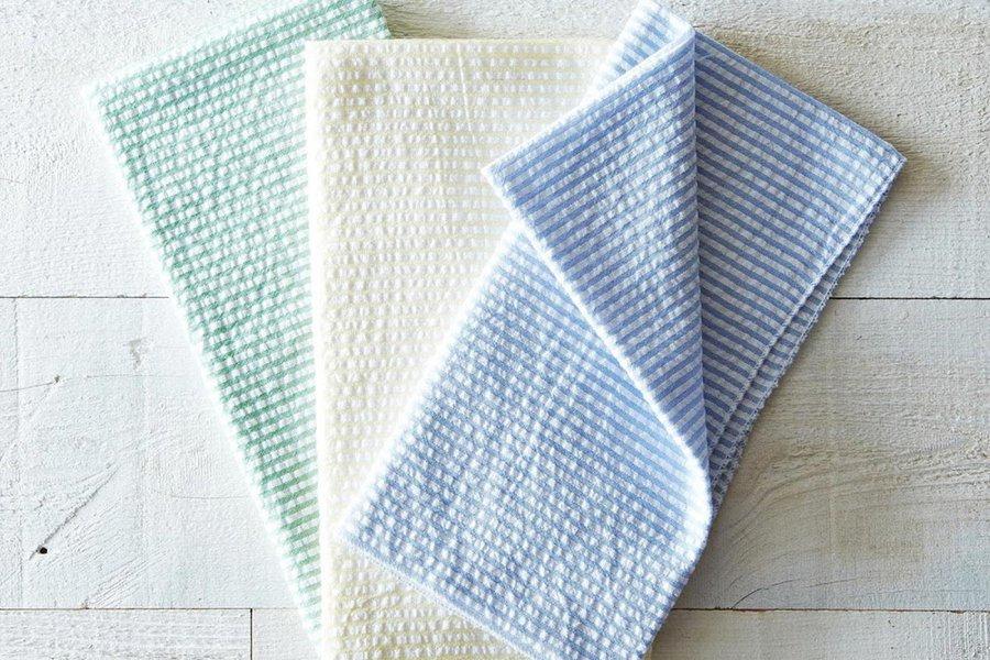 Seersucker Cloth Napkins