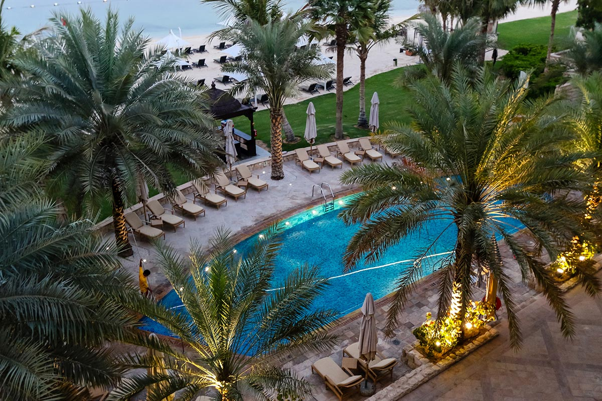 Pool at Shangri La Abu Dhabi