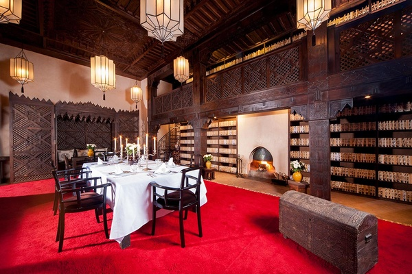 Library Dining Room, Almaha Marrakech