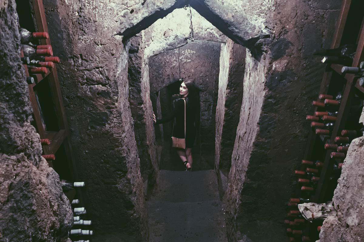 Don Alfonso wine cellar