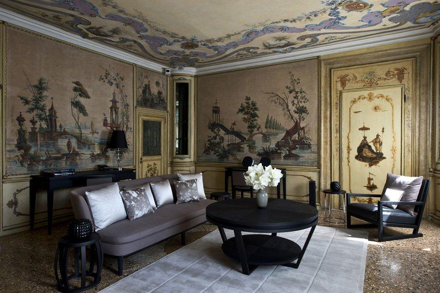 Alcova Tiepolo Suite Living Room