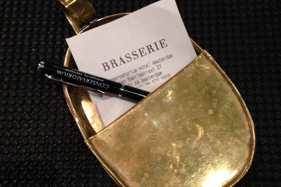 Brasserie: Creative Bill Paying