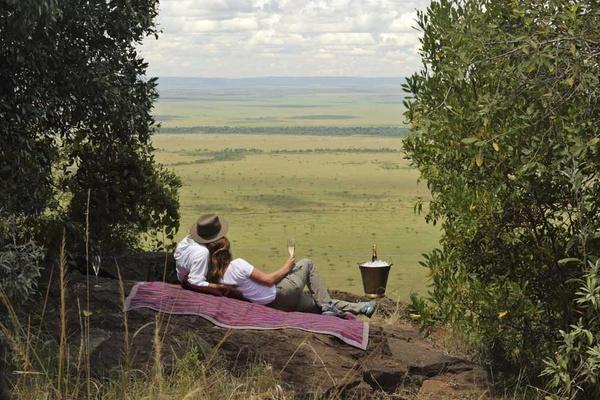 Angama Mara picnic