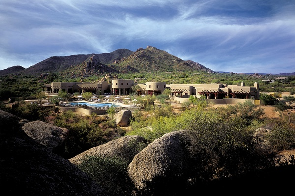 Spa at Boulders, Scottsdale, Arizona