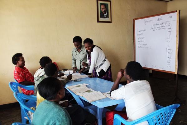 Aspire Rwanda literacy Training