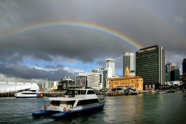 Auckland waterfront.