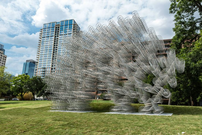 Sculpture at The Contemporary Austin.