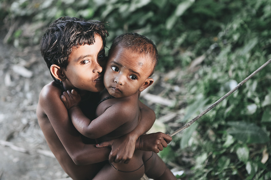 Children in Dhaka, Bangladesh