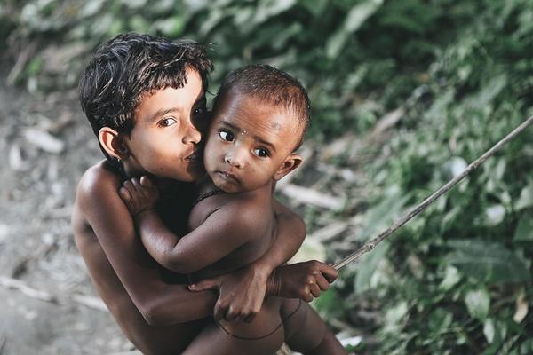 Children in Dhaka, Bangladesh