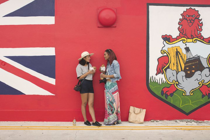 Eating and drinking in Bermuda