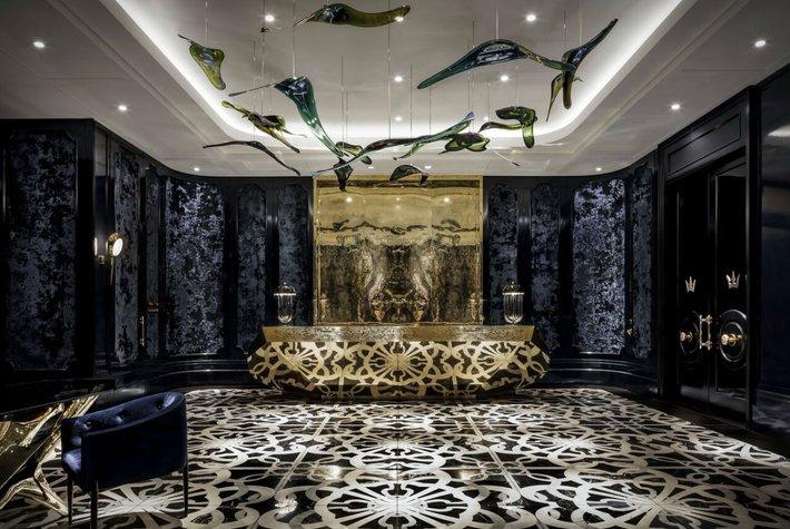 Lobby at Bisha Hotel Toronto.