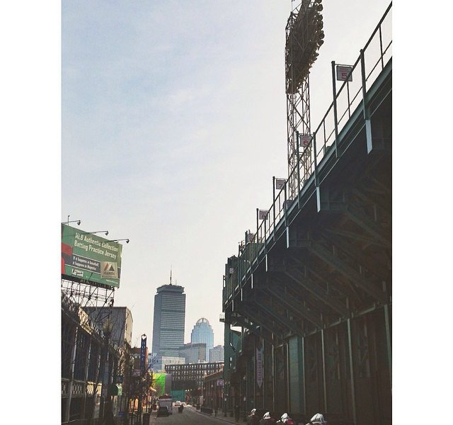 The Green Monster at Fenway
