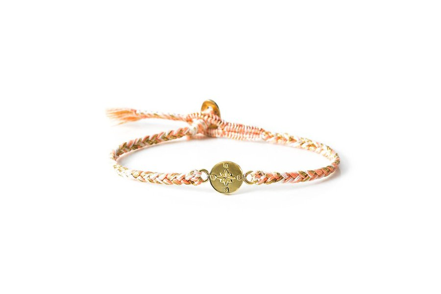 The Brave Collection Peony Compass Bracelet
