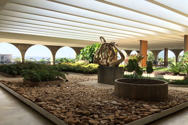 Palacio Itamaraty, Brasilia.