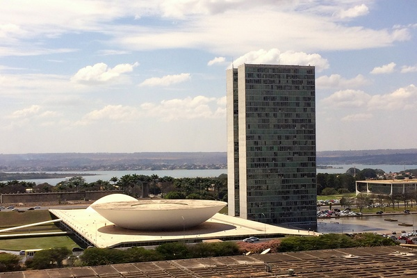 View of Brasilia from Restaurante Escola