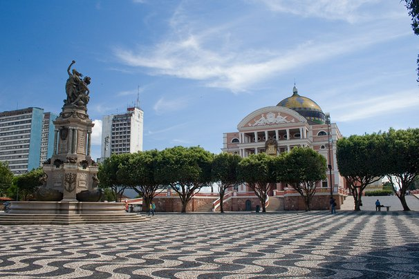 Amazonas Opera House.