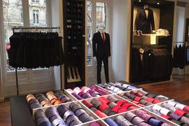Bruce Field suit store in Saint Germain.