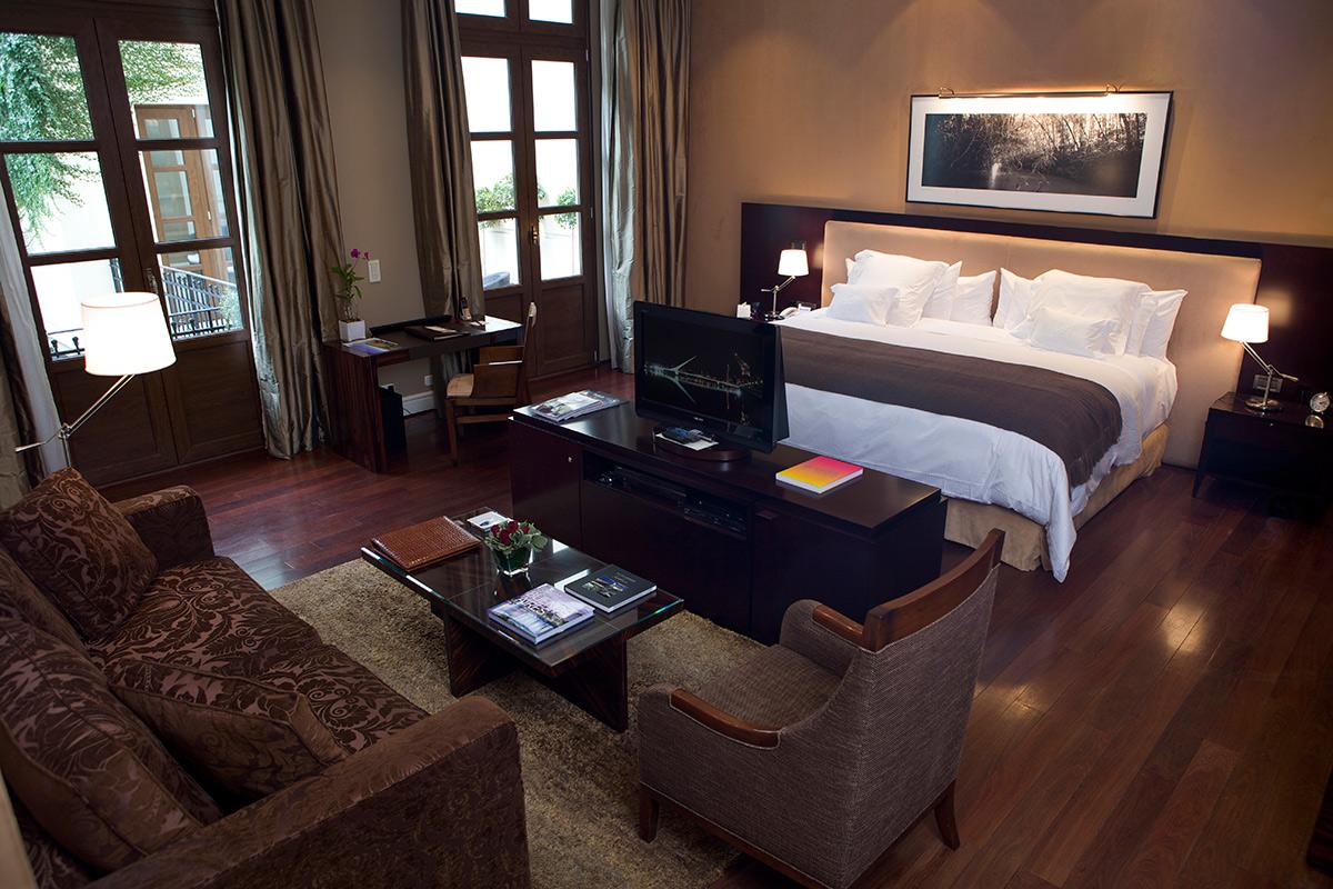 Ambassadeur Suite bedroom