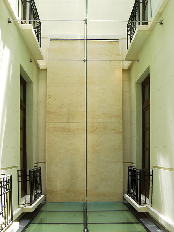 Light Well at Algodon Mansion