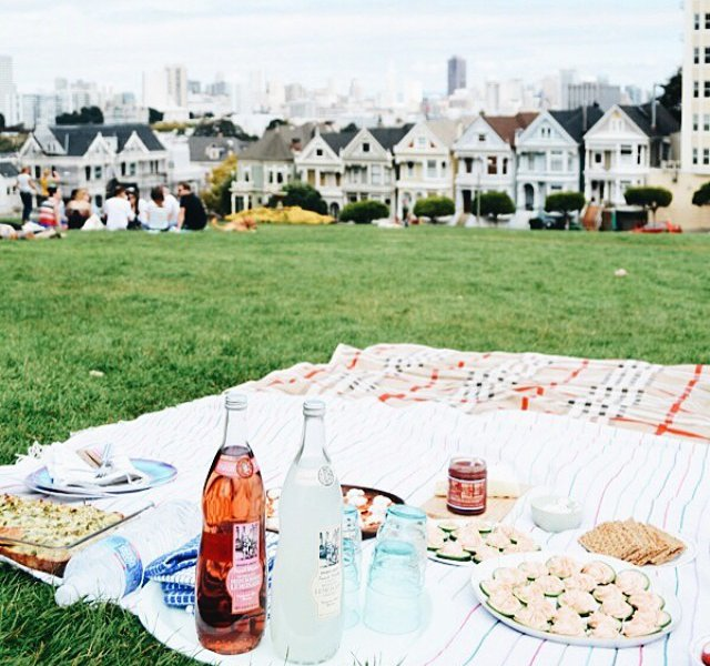 Picnic in San Francisco