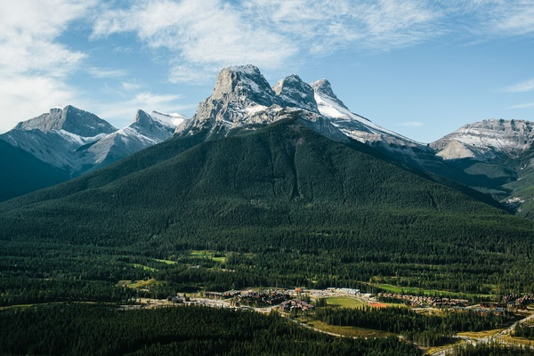 Rockies landscape Alberta, Canada