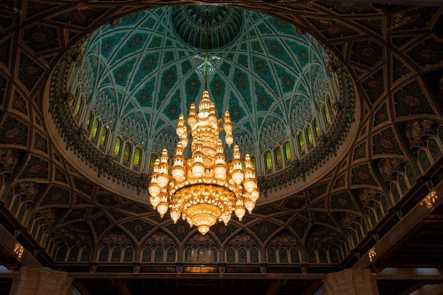 Mosque in Muscat.