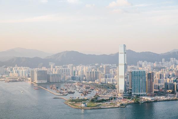 Skyline Hong Kong, China
