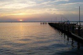 Sunset on Chicnoteague Island