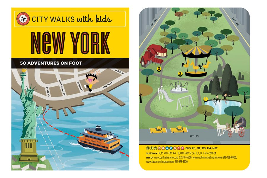 City Walks with Kids: New York