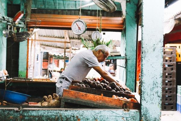Mercado San Juan, Colombia
