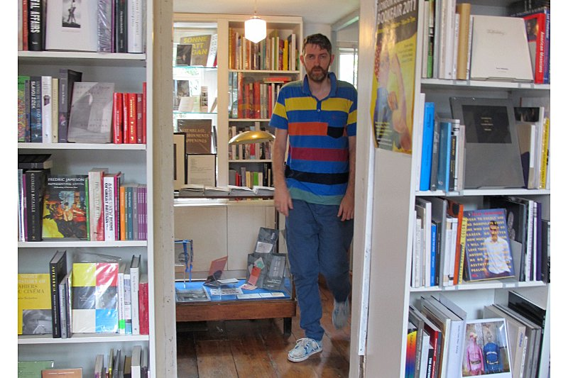 Conor of Donlon Books in Broadway Market. Photo: Geren Lockhart.