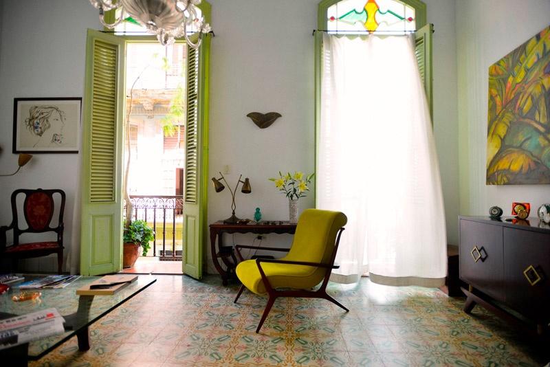 Casa Vitrales, Cuba